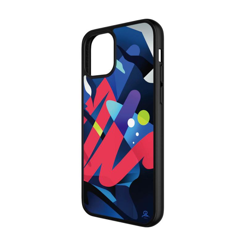 Гръб PanzerGlass Artist Edition ClearCase за Iphone 12/12 Pro  - Цветен