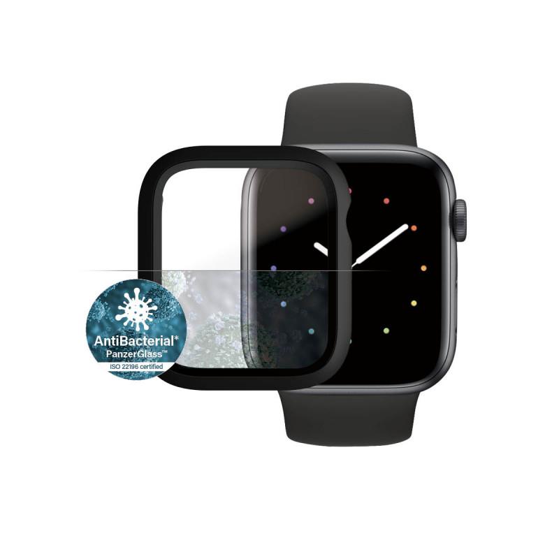 Стъклен протектор със силиконова рамка Apple watch...