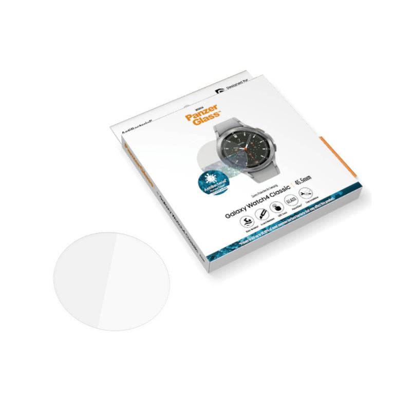 Стъклен протектор за часовник PanzerGlass за Samsung Galaxy Watch 4 Classic, 45.5mm