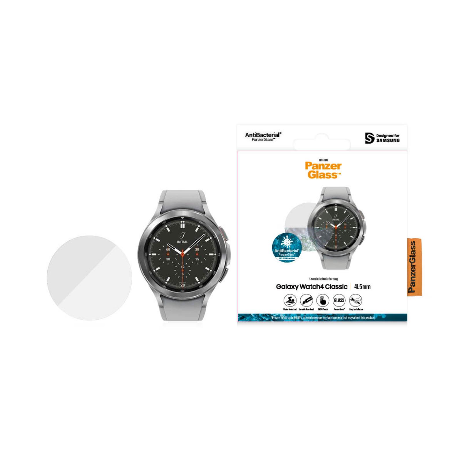 Стъклен протектор за часовник PanzerGlass за Samsung Galaxy Watch 4 Classic, 41.5mm