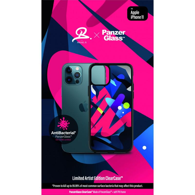 Гръб PanzerGlass Artist Edition ClearCase за Iphone 11  - Цветен