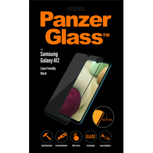 Стъклен протектор PanzerGlass за Samsung A12 , Cas...