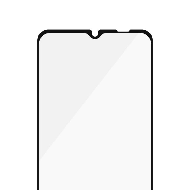 Стъклен протектор PanzerGlass за Samsung A12 , CaseFriendly - Черен