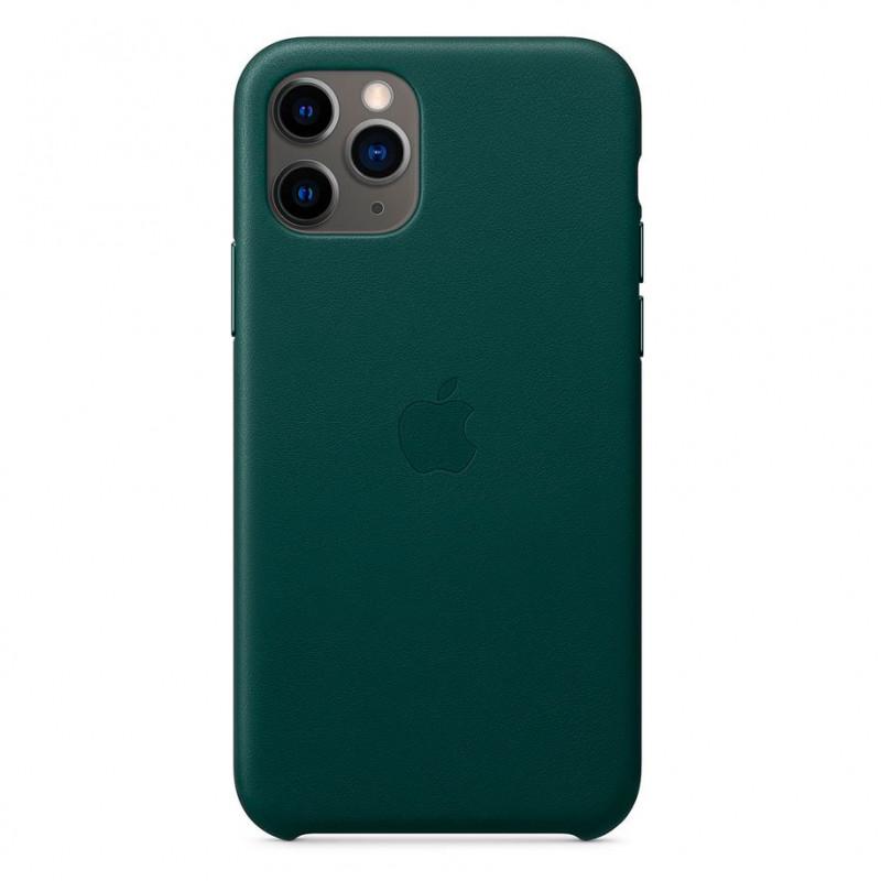Оригинален гръб Leather за Apple iPhone 11 Pro  - ...