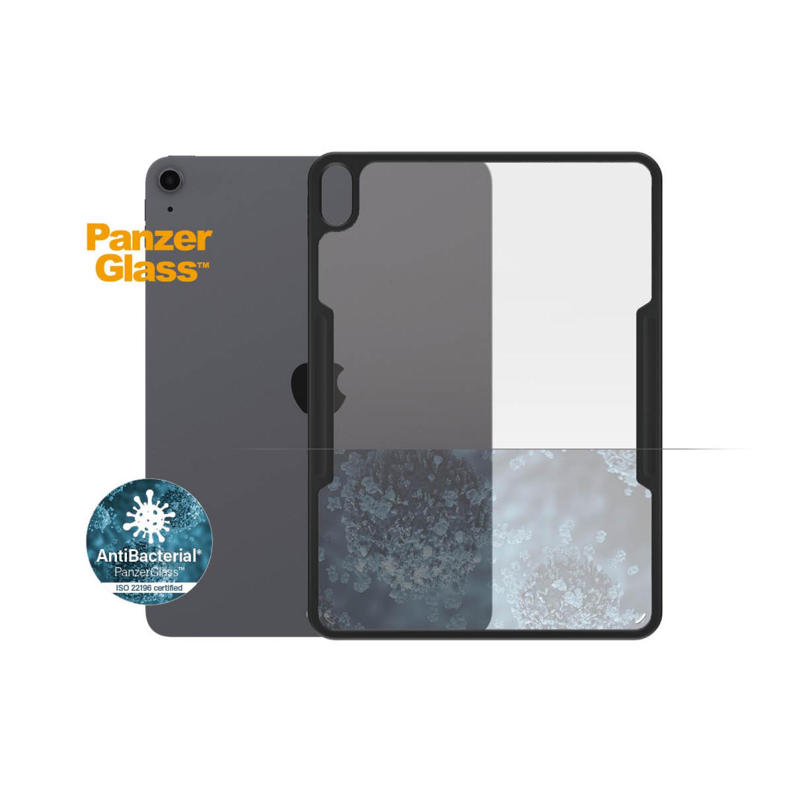 Гръб Panzerglass за Apple iPad Air 10.9 (2020), Черна рамка