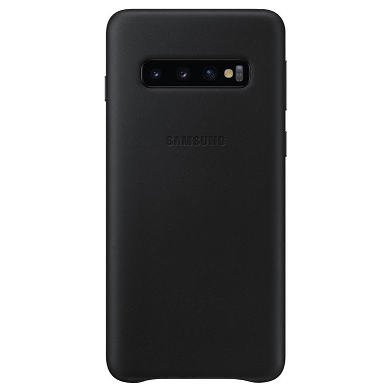 Оригинален гръб Leather Cover за Samsung Galaxy S1...