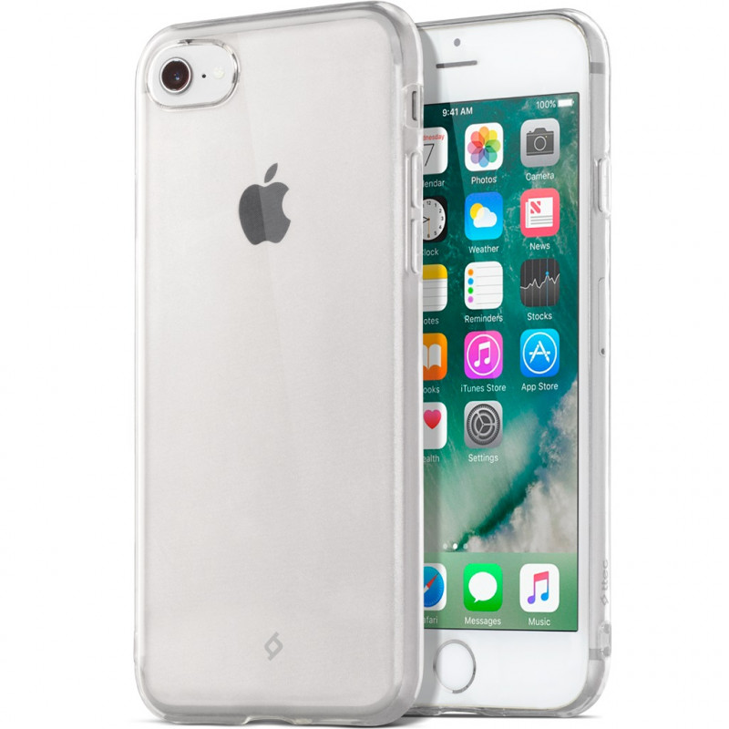 Гръб ttec SuperSlim за Apple iPhone 6/6S - Прозрачен