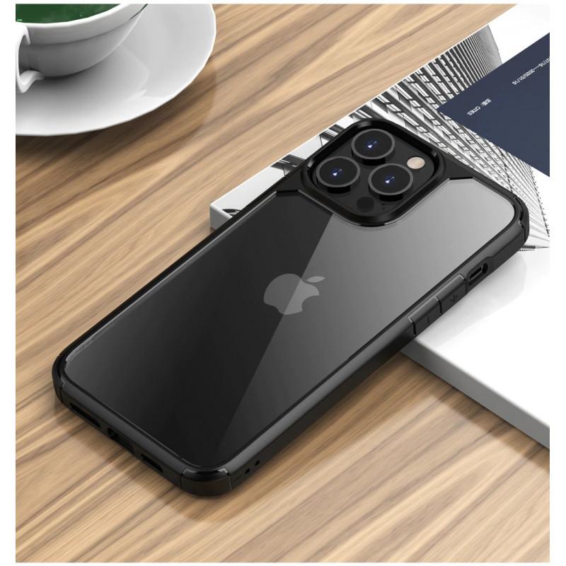Гръб ipaky Yujia case за Iphone 13 Pro - Черен