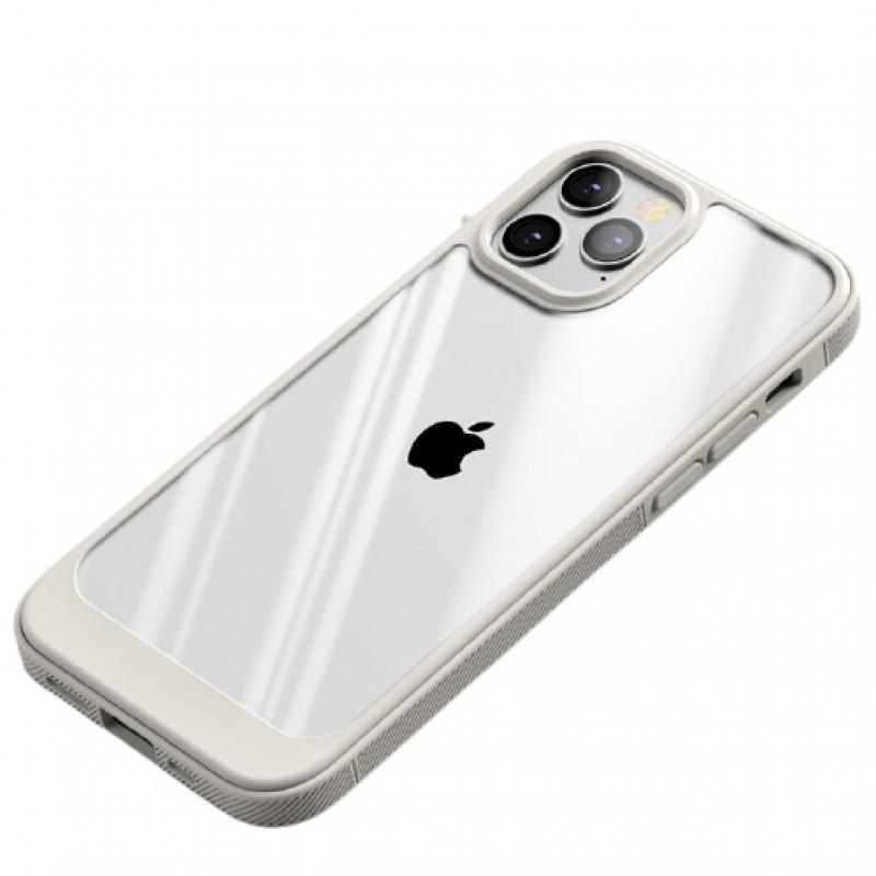 Гръб Ipaky Meiguang за Iphone 13 Pro Max - Бял
