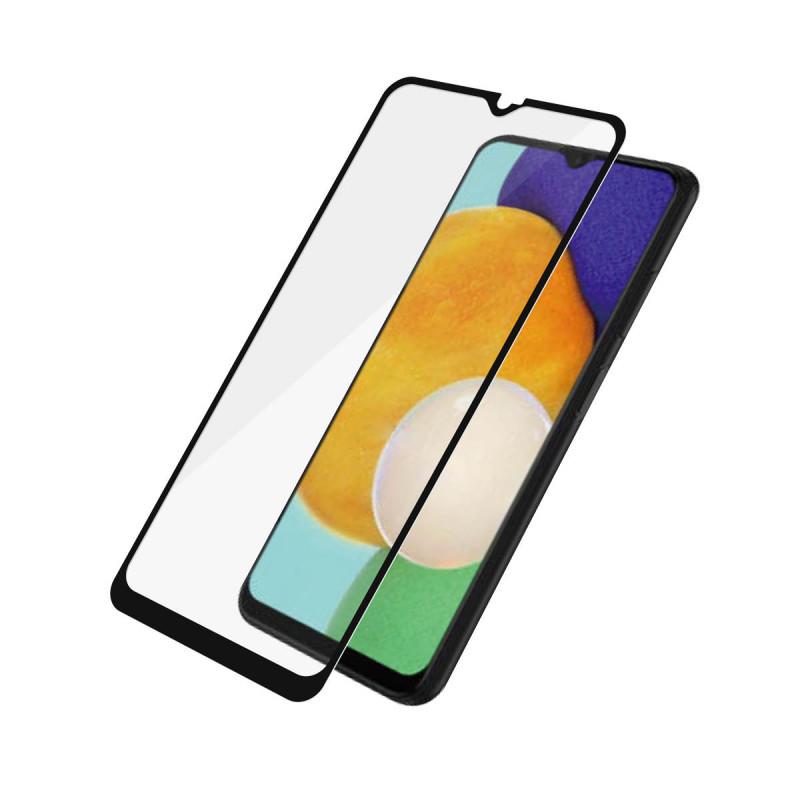 Стъклен протектор PanzerGlass за Samsung Galaxy A03s CaseFriendly - Черен