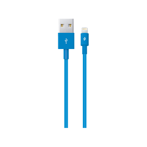 Кабел ttec Lightning USB Charge / Data Cable - Син...