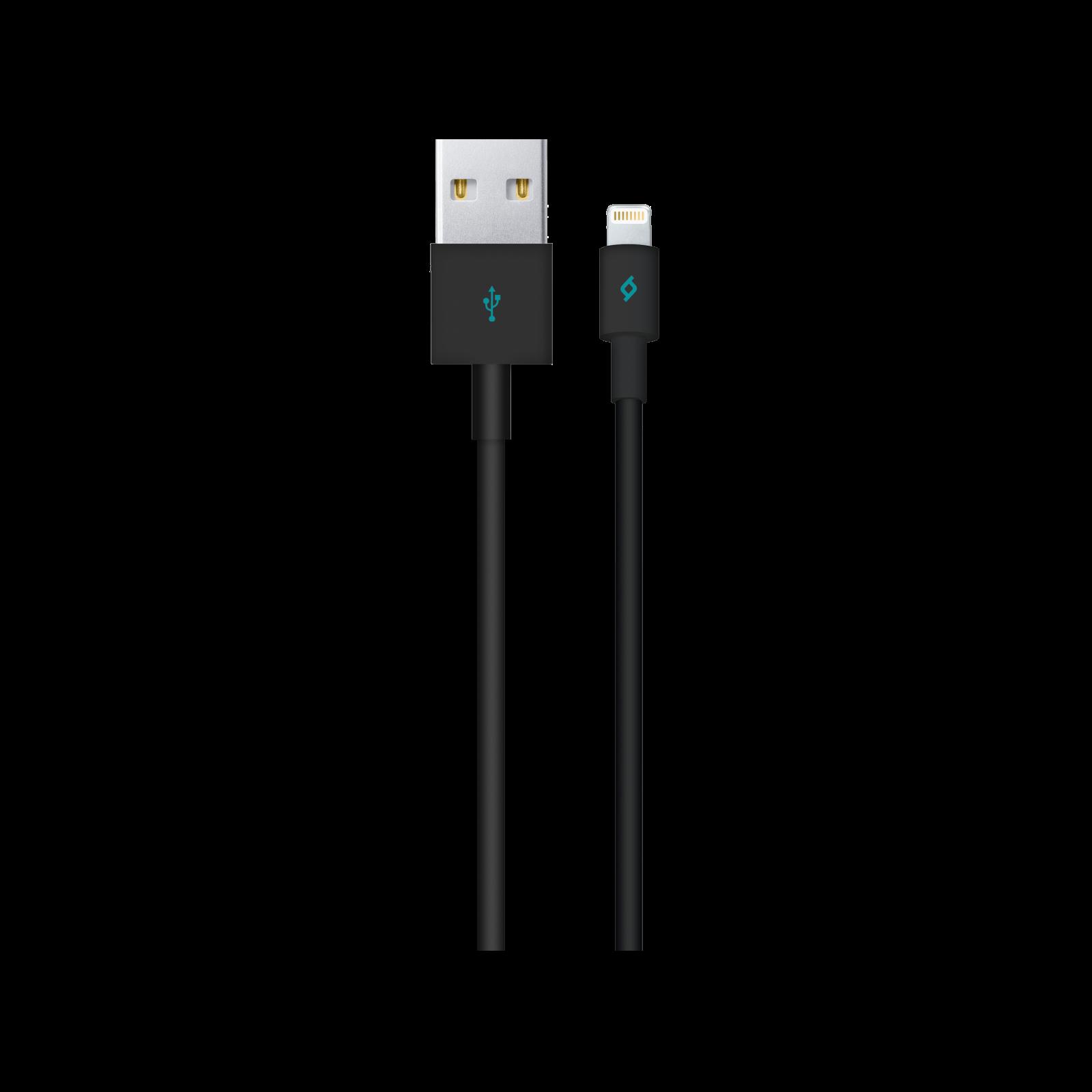 Кабел ttec Lightning USB Charge / Data Cable - Черен
