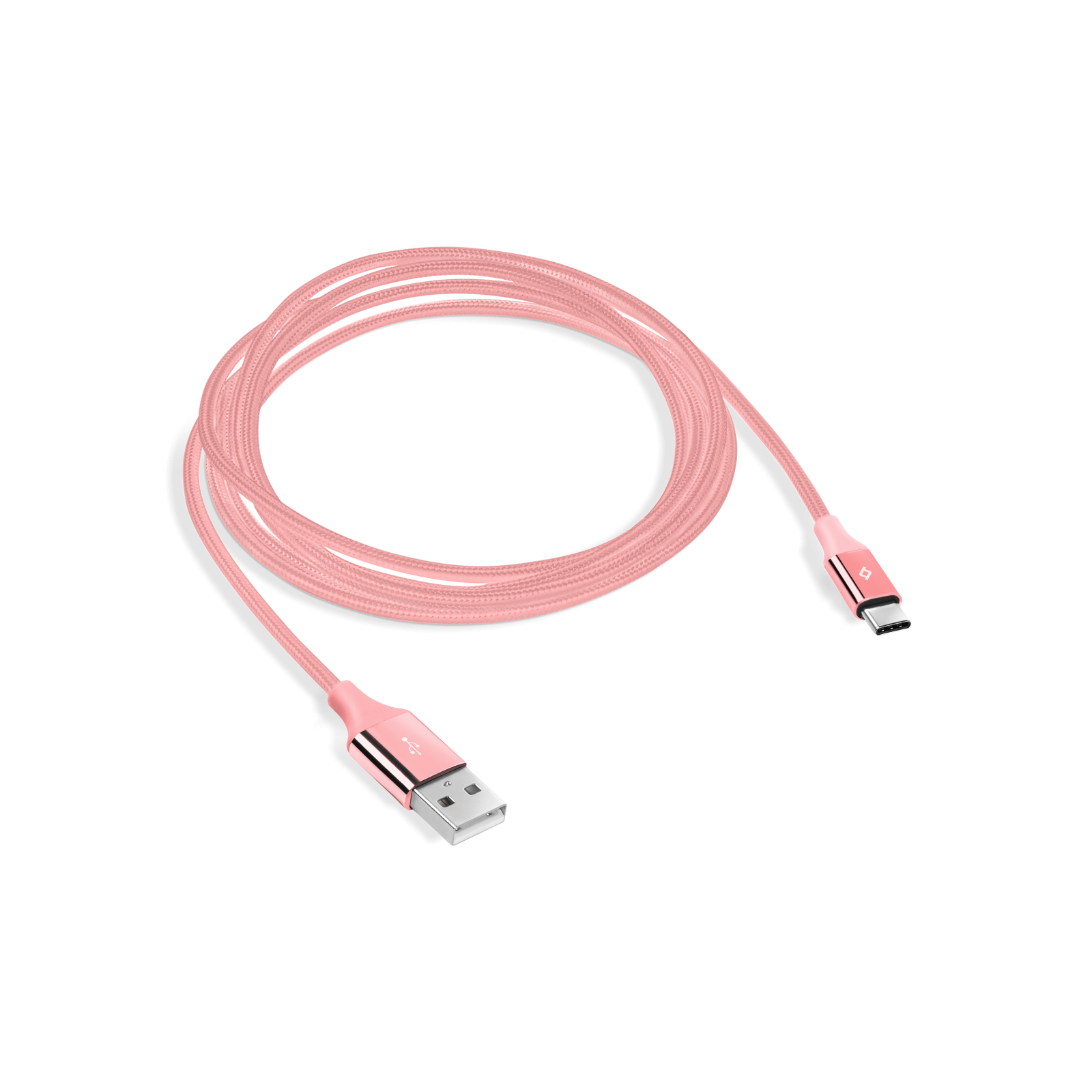 Кабел ttec AlumiCable Type C Charge/Data Cable, 2.0 - Rose Gold