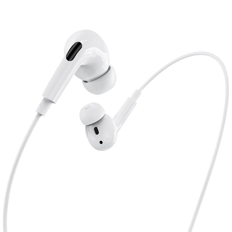 Слушалки M1 Pro Original series earphones за Lightning - Бели
