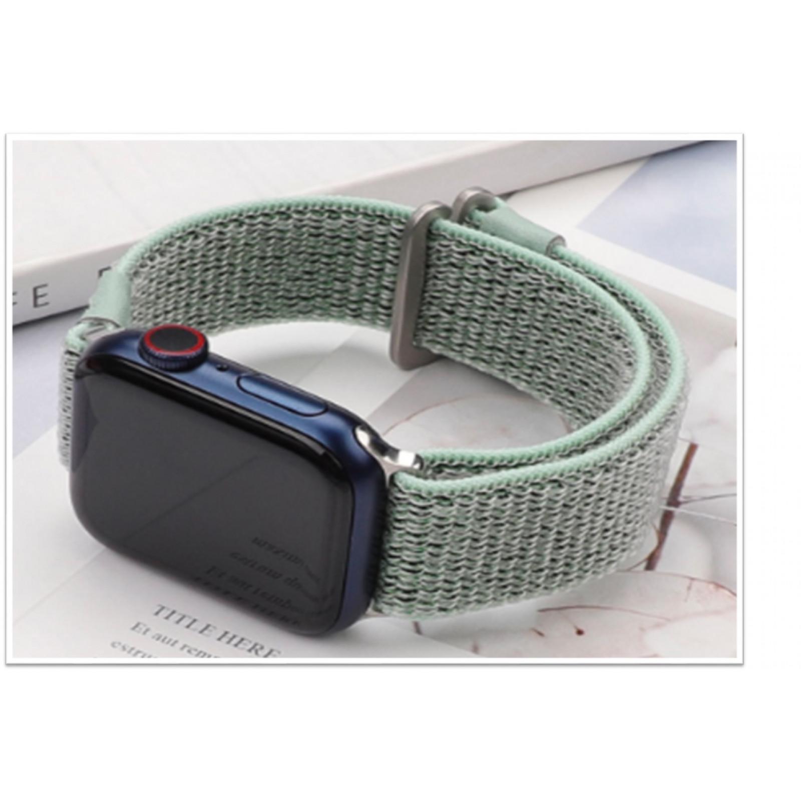 Силиконова каишка за часовник Smart Watch 42/44mm - Зелена