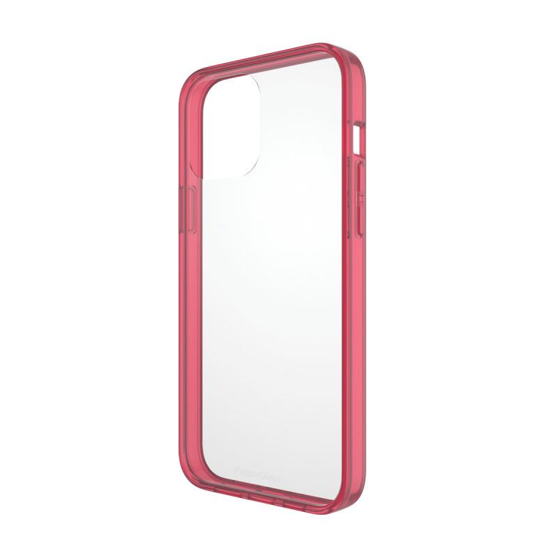 Гръб PanzerGlass за IPhone 13 Pro Max , ClearCase - Червена рамка