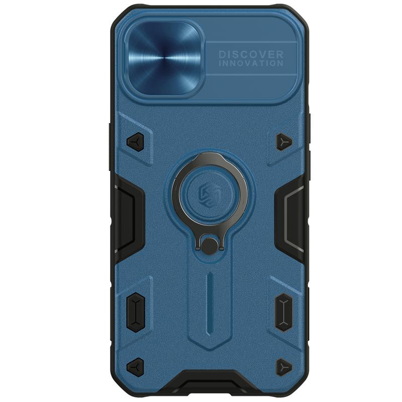 Гръб Nillkin camshield armor за Iphone 13 - Син...