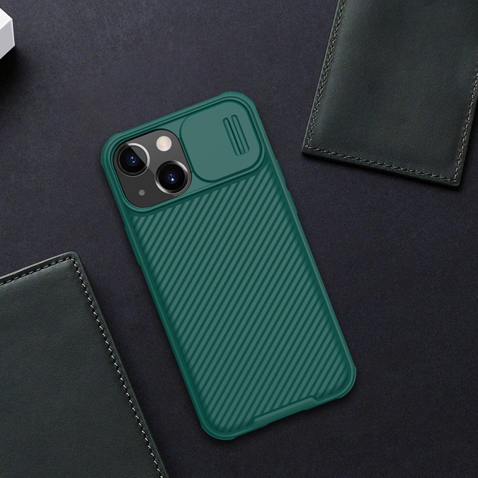 Гръб Nillkin Camshield pro за Iphone 13 mini - Зелен