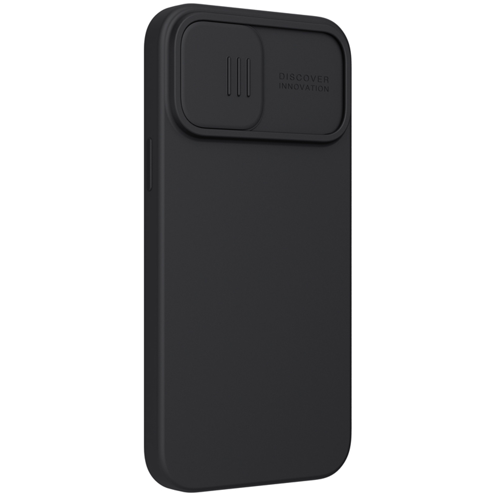 Гръб Nillkin Camshield Silky magnetic silicone case за iphone 13 Pro Max - Черен