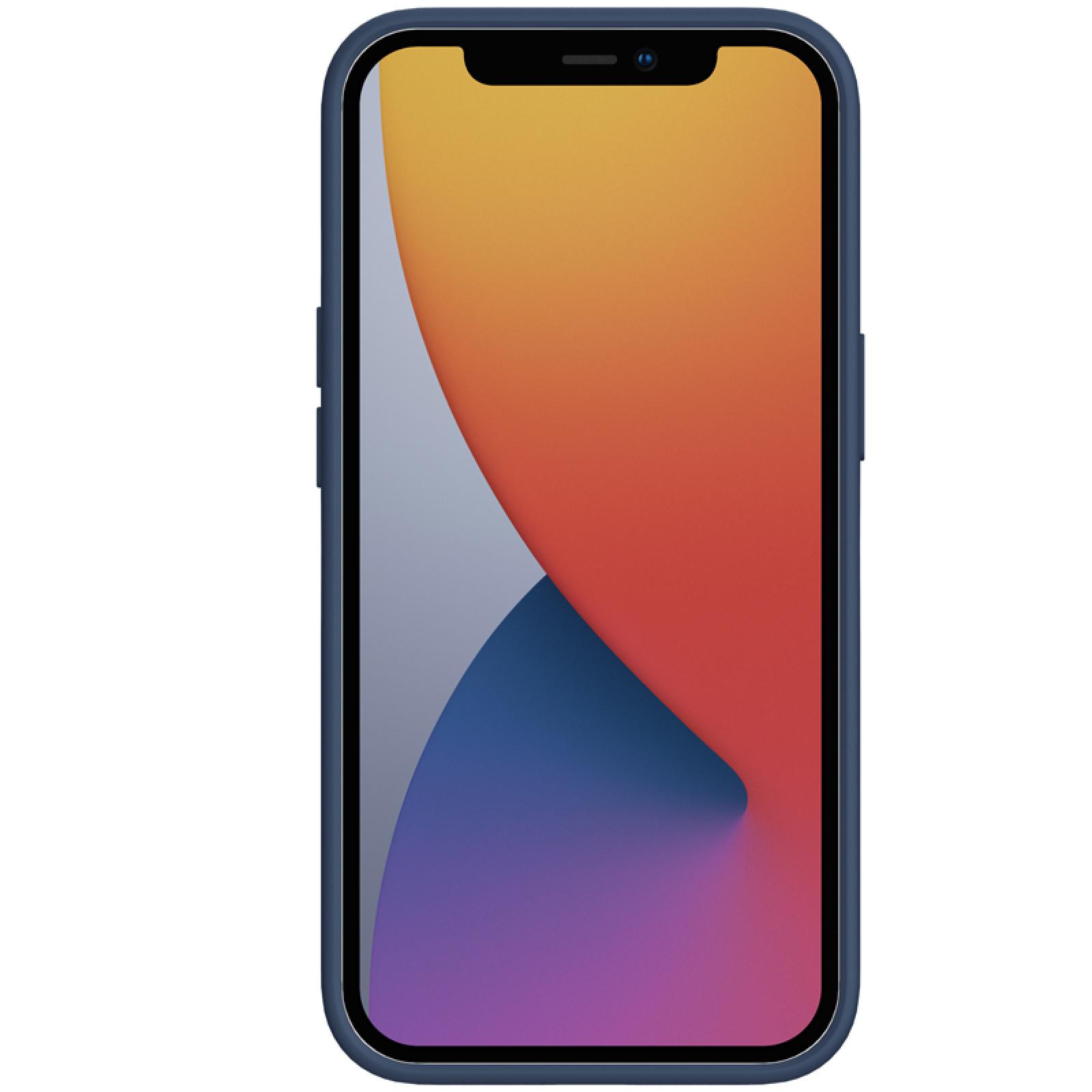 Гръб Nillkin Camshield Silky magnetic silicone case за iphone 13 Pro Max - Син