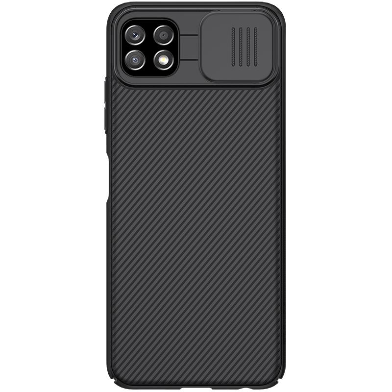 Гръб Nillkin Camshield series за Samsung Galaxy A22 5G - Черен