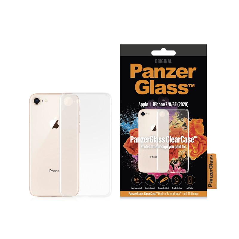 Гръб PanzerGlass за IPhone 7/8/SE 2020 ClearCase -...