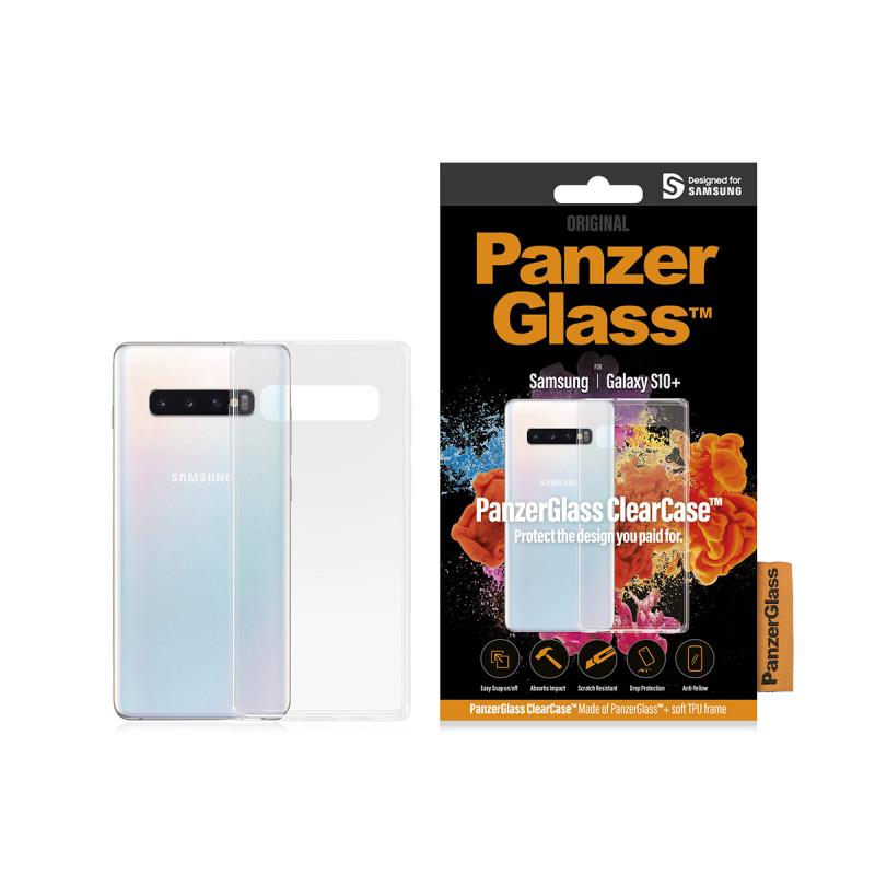 Гръб PanzerGlass за Samsung Galaxy S10 Plus ClearC...