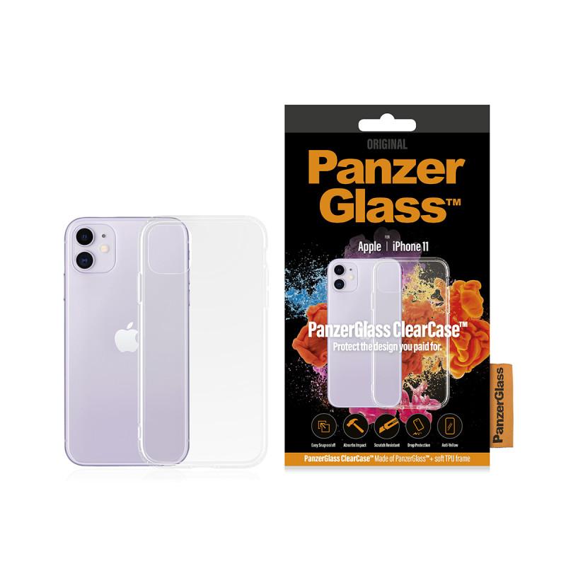 Гръб PanzerGlass за IPhone 11 ClearCase - Прозраче...