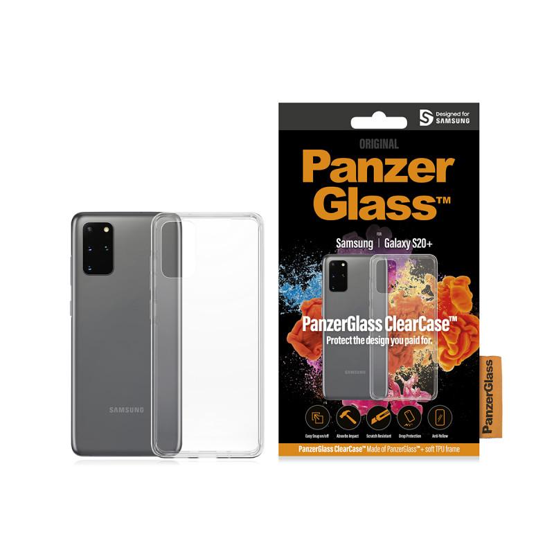Гръб PanzerGlass за Samsung Galaxy S20 Plus ClearC...
