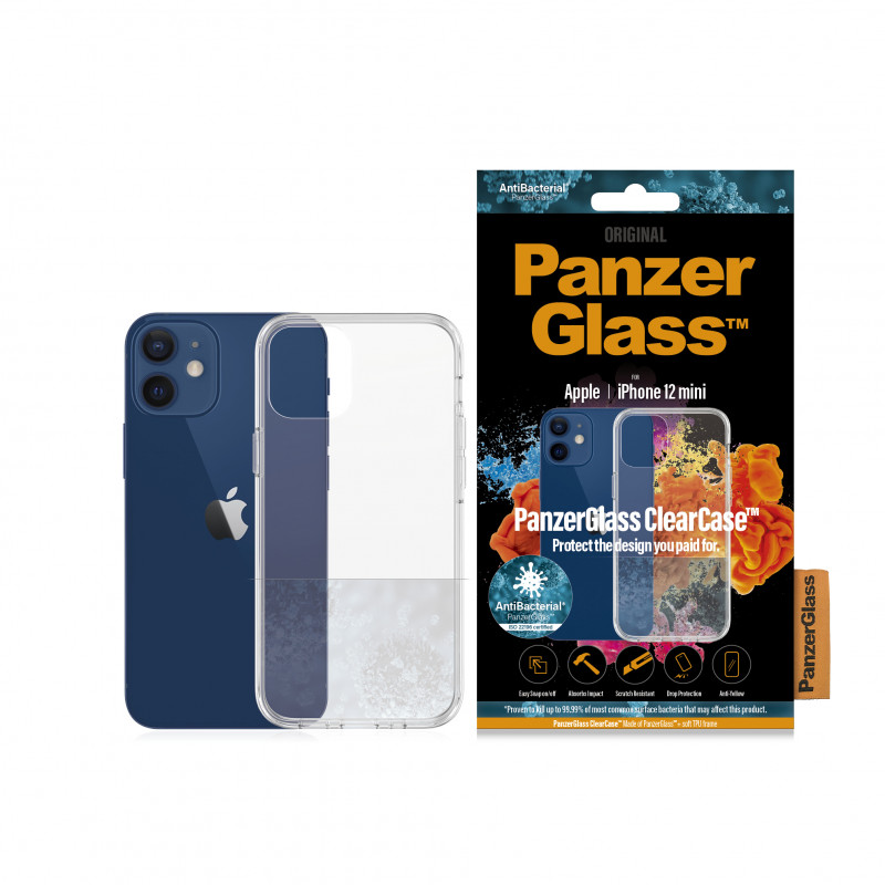 "Гръб PanzerGlass за IPhone 12 mini 5.4"" AntiB..."
