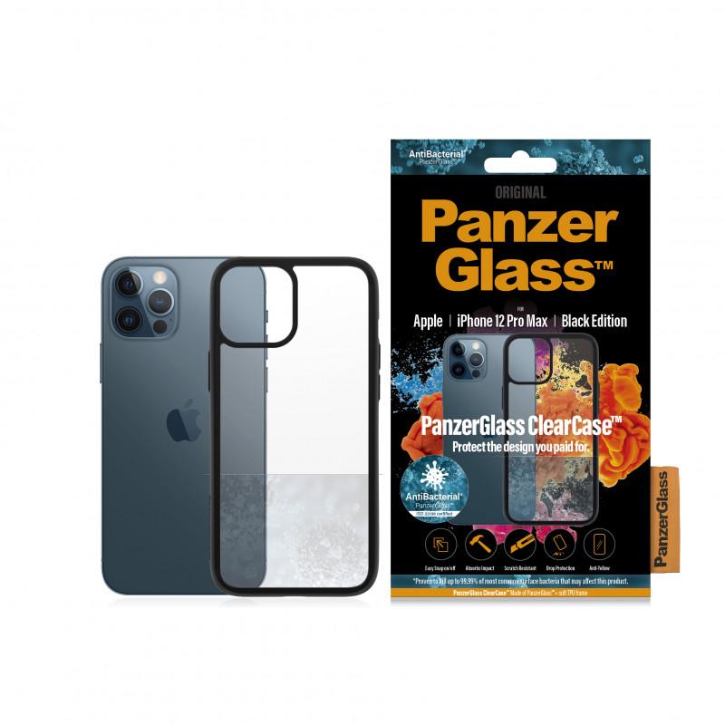 """Гръб PanzerGlass за IPhone 12 Pro Max 6.7"""" - Черна Рамка, 117935"""