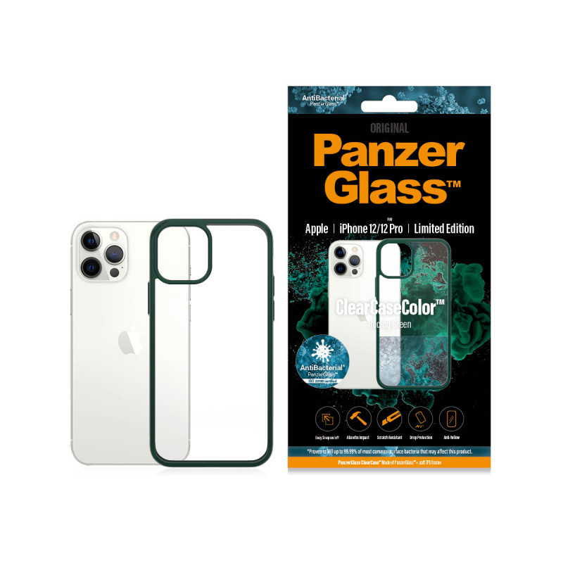 Гръб PanzerGlass за IPhone 12 / 12 Pro, ClearCase ...