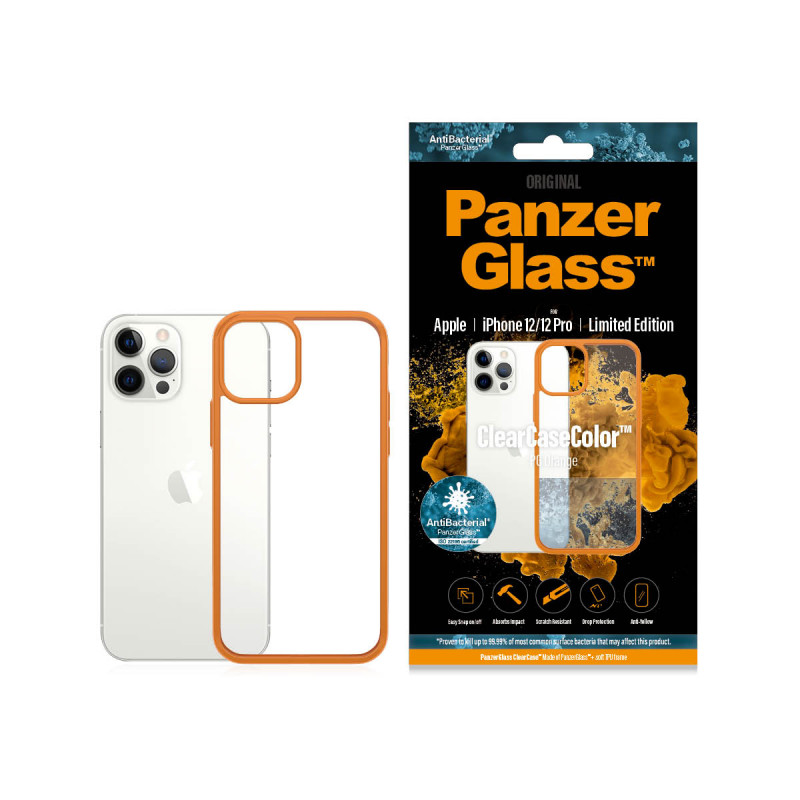 Гръб PanzerGlass за IPhone 12 / 12 Pro, ClearCase ...
