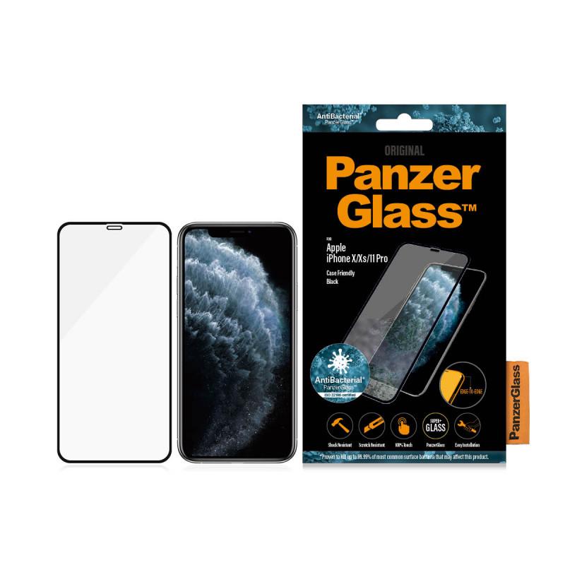 Стъклен протектор Apple iPhone X/Xs/11 Pro  Panzer...