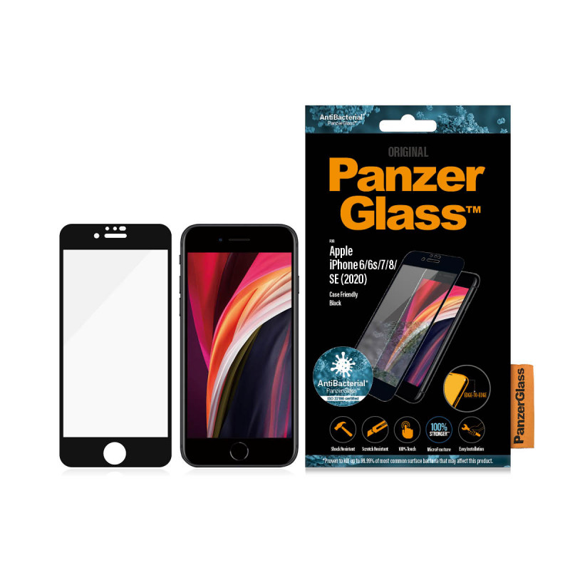 Стъклен протектор Apple iPhone SE2020//6s/7/8 Panz...
