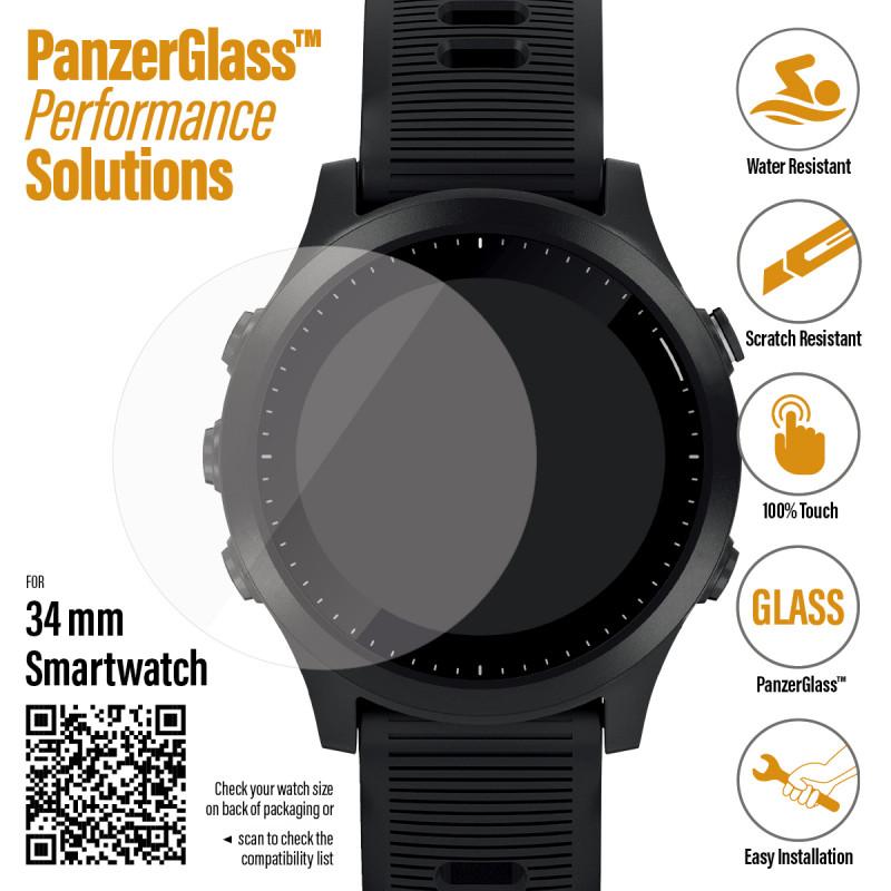 Стъклен протектор Samsung watch Active 3 45mm / Sm...