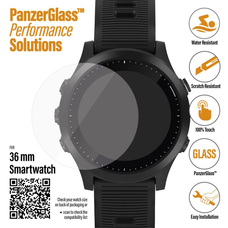 Стъклен протектор Smart watch 36mm Panzerglass, 11...