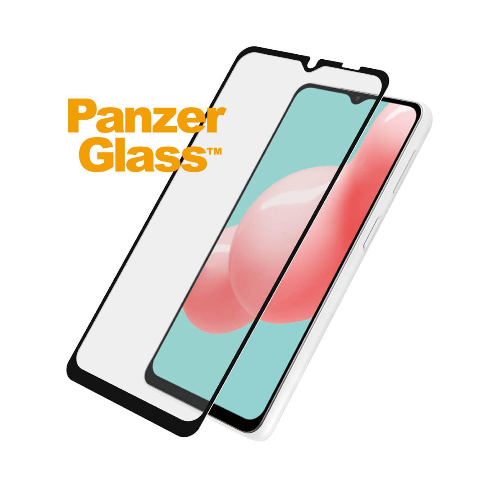 Стъклен протектор PanzerGlass за Samsung A32 5G , CaseFriendly - Черен