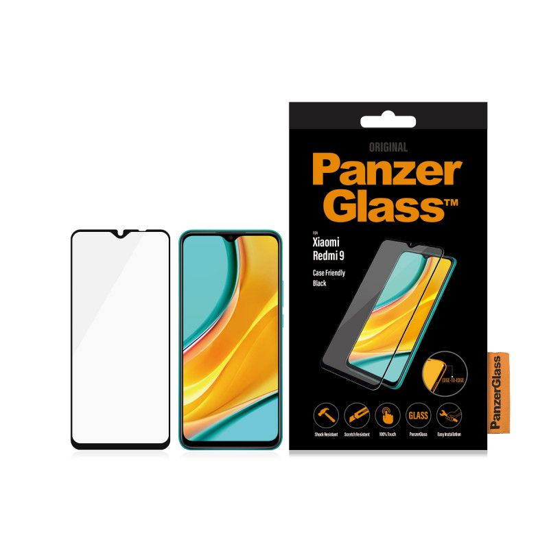 Стъклен протектор PanzerGlass за Xiaomi Redmi 9 Ca...
