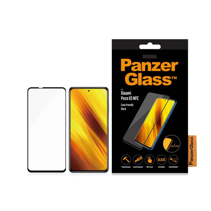 Стъклен протектор PanzerGlass за  Xiaomi Poco X3 ,...