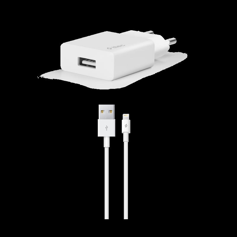 Зарядно 220V SmartCharger USB Travel Charger, 2.1A...