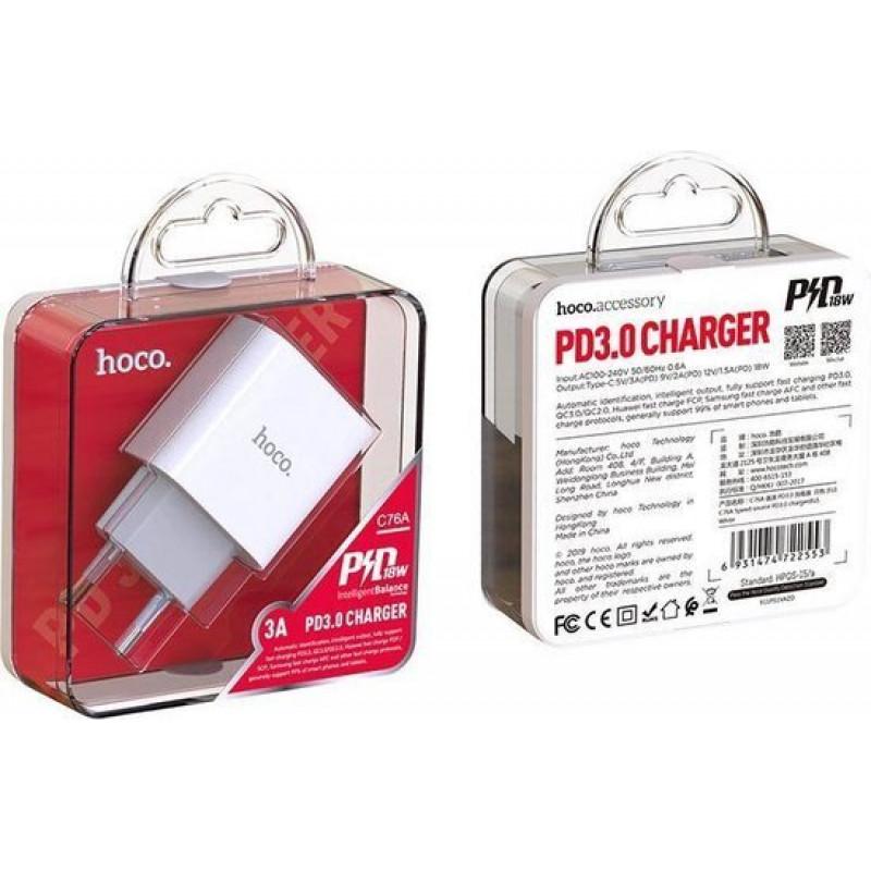 Адаптер 220V C76A Speed source PD3.0 charger(EU)) ...