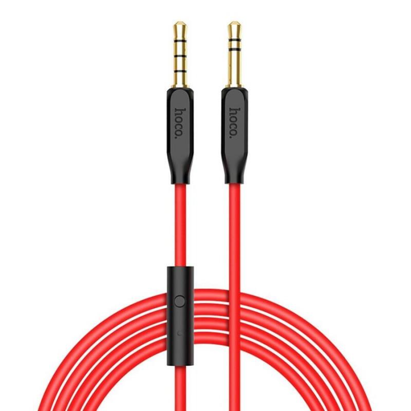 Аудио кабел Hoco UPA12 AUX audio cable 3.5(with mi...