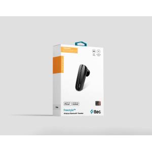Bluetooth слушалка Freestyle Bluetooth Headset, Че...