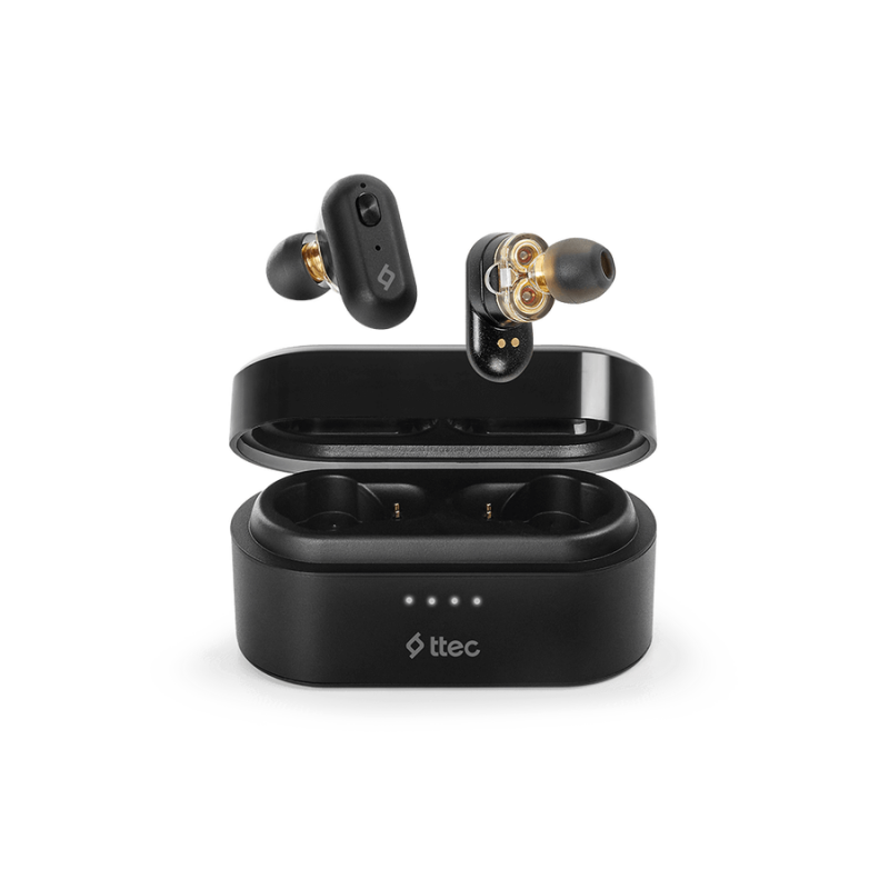 Bluetooth слушалки ttec AirBeat Duo True Wireless ...