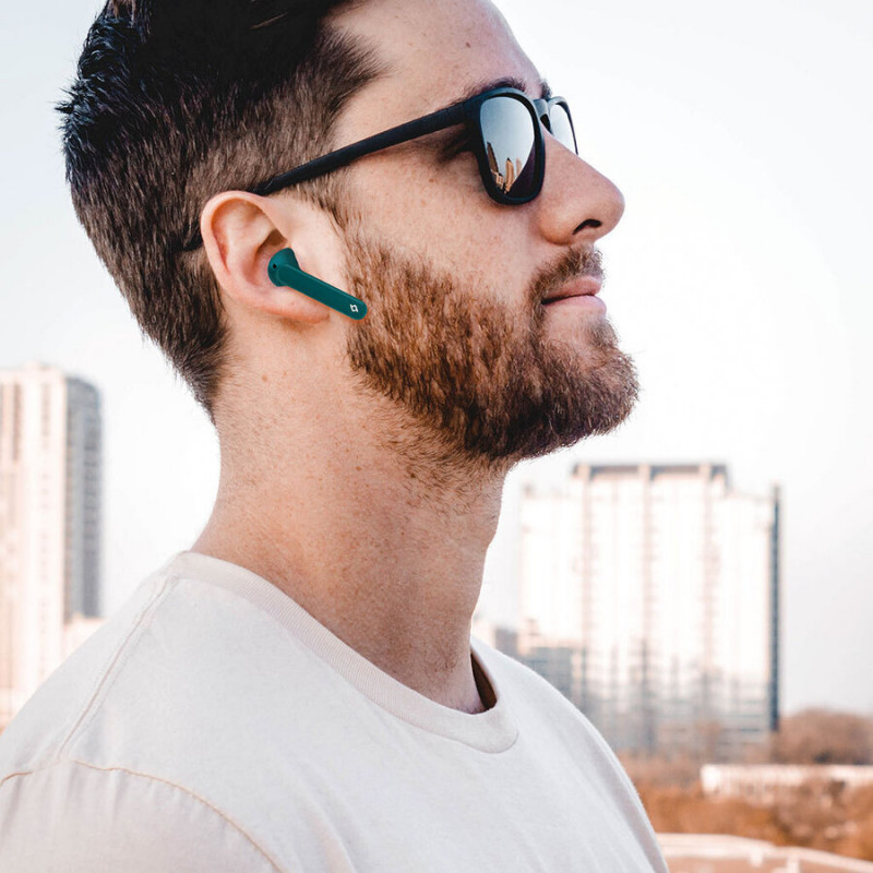 Bluetooth слушалки ttec AirBeat Free True Wireless Headsets - Бели