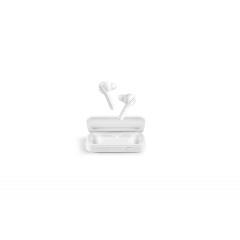 Bluetooth слушалки ttec AirBeat TouchTrue Wireless Headsets - Бели,116799