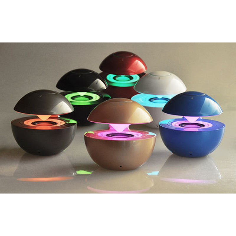 Bluetooth колона - LED BALLчервена