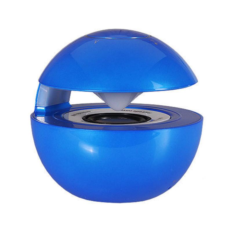 Bluetooth колона - LED BALLсиня