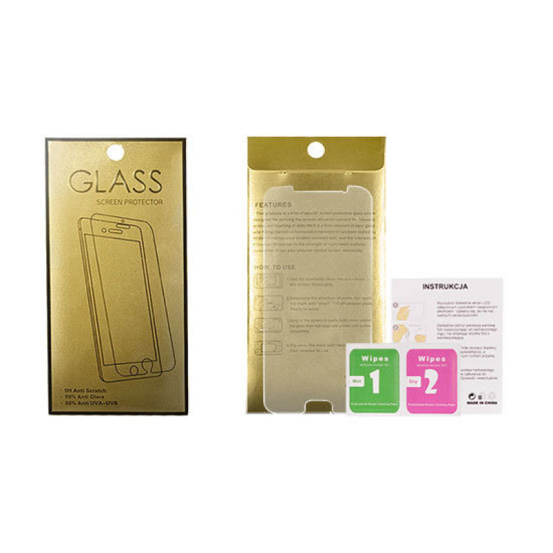 Стъклен протектор Glass Gold  - IPHONE 5...